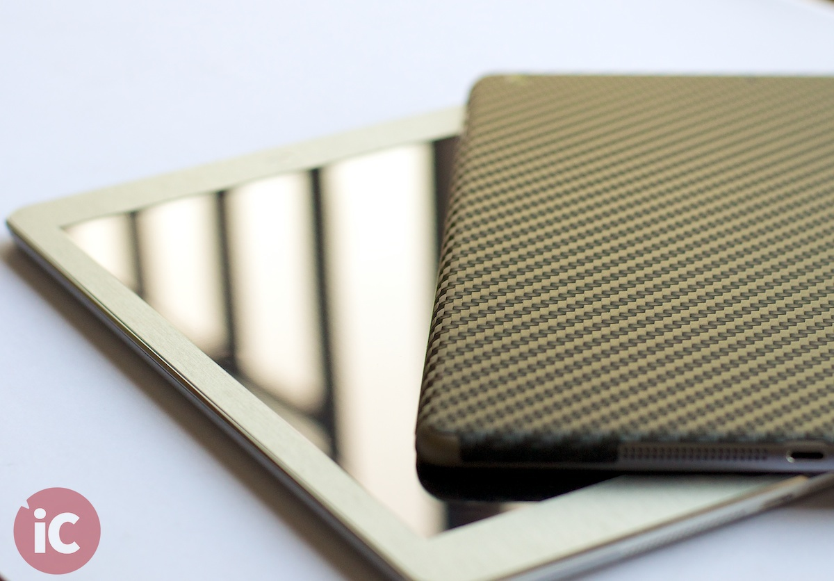 iCarbons Skins for iPad Air [REVIEW]