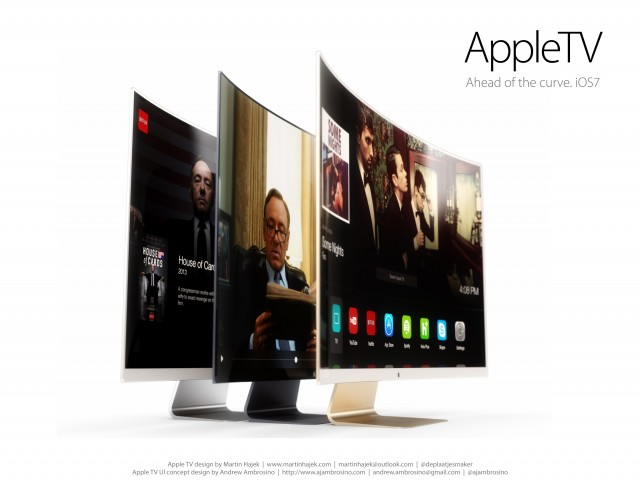 Check out this Apple Television Concept with 'Extracool' UI