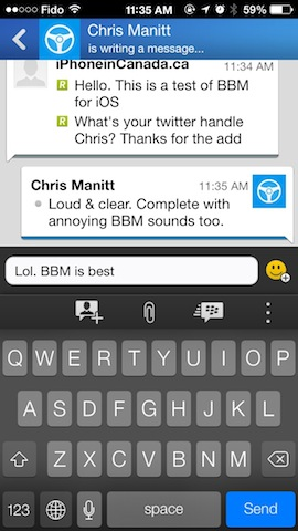 Bbm ios hands on 9
