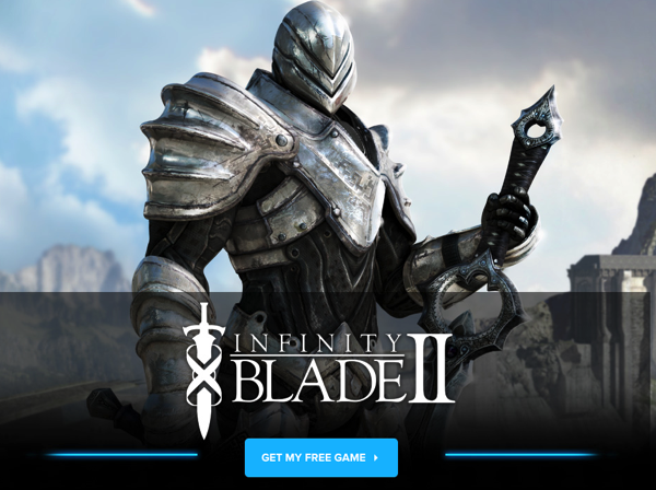 Infinity Blade II Is IGN's Free iOS Game of the Month