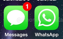 Whatsapp ios7 icon