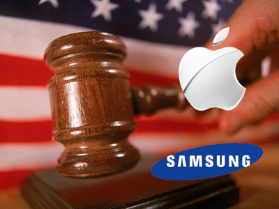 Apple v Samsung court