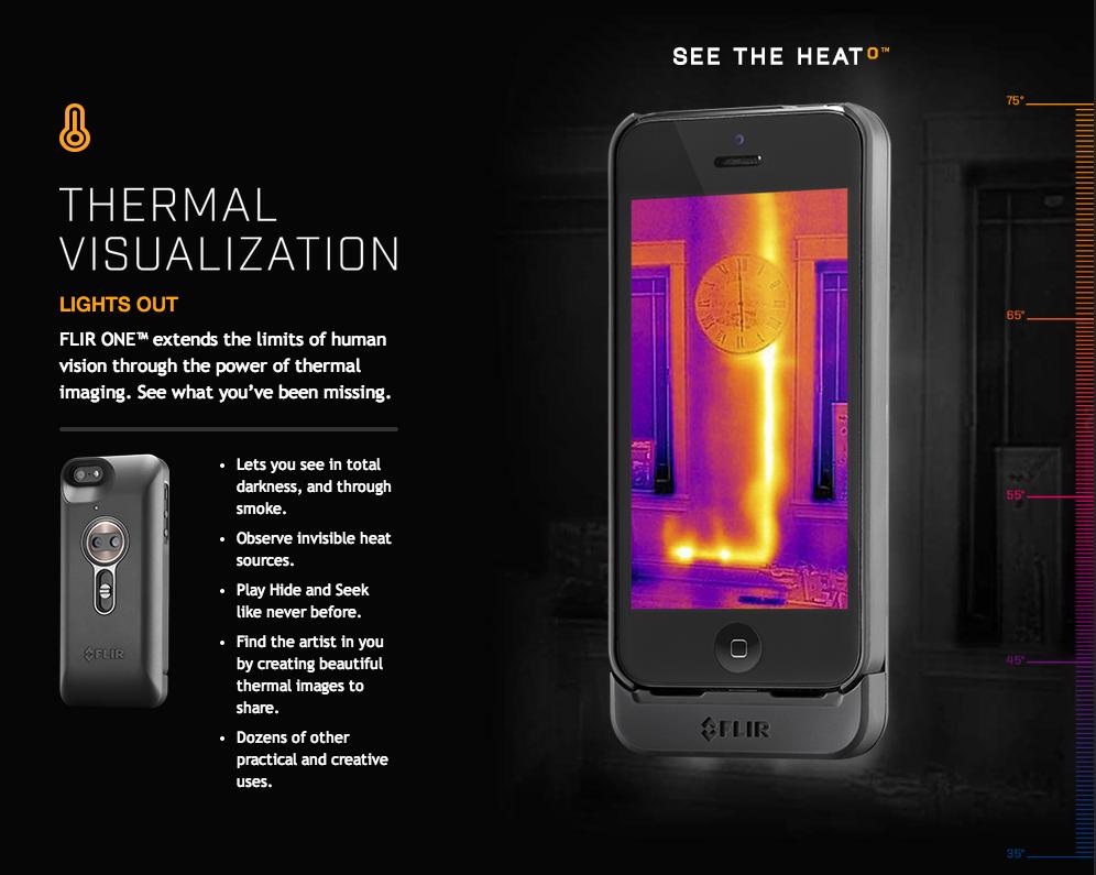 iphone flir thermal camera