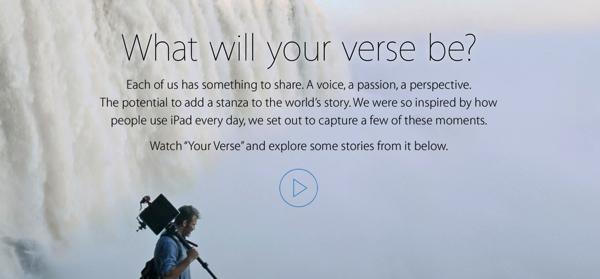 Your Verse iPad Air