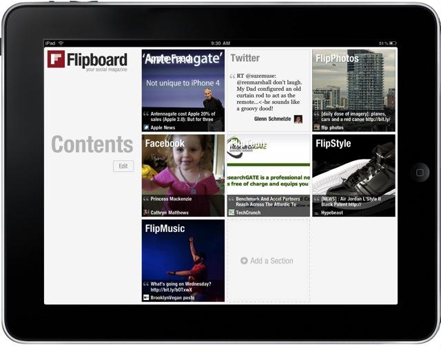ipad flipboard