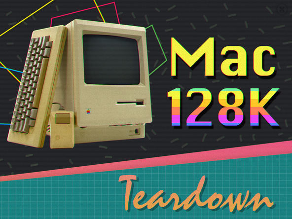 Ifixit mac 128k teardown