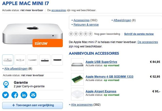 Mac mini haswell be