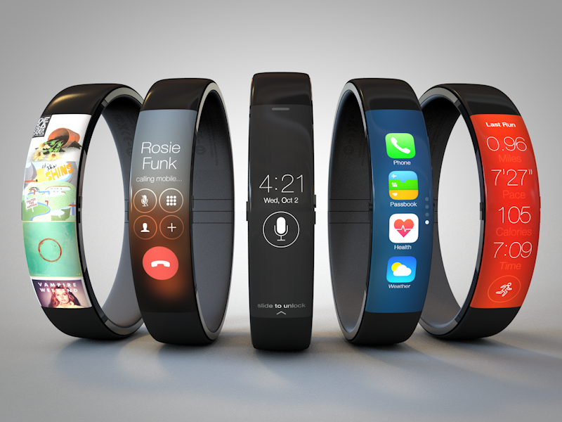 Check Out This Awesome 'iWatch' Concept by Todd Hamilton