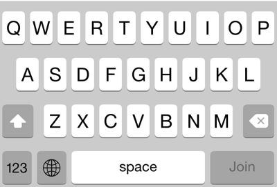 Tweaked keyboard