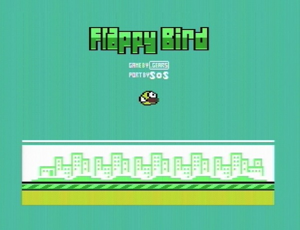 Flappy bird commodore64