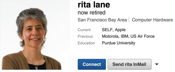 Rita lane linkedin