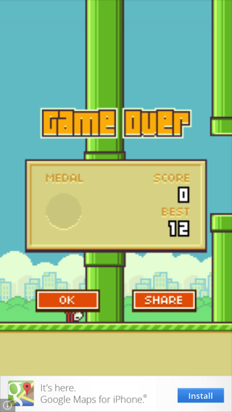 Flappy Bird Soon to Fly Back Into the App Store