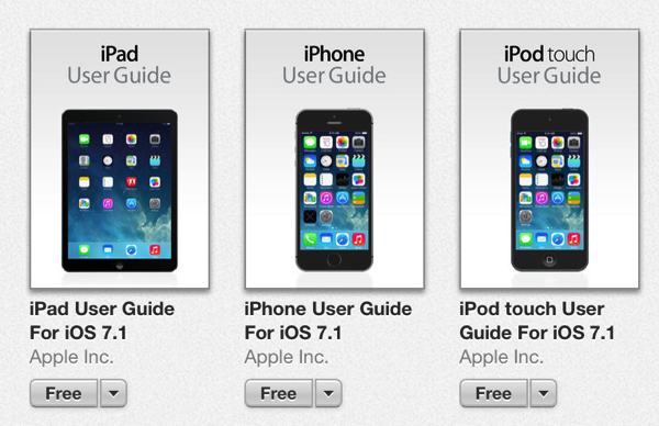 iphone user guide apple s ios user guides been updated for ios 7 1 1748