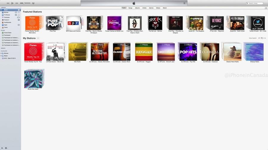 Itunes radio mac 1