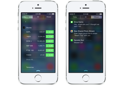 Apple to Enhance Notification Center, Introduce Inter-App Communication and More in iOS 8