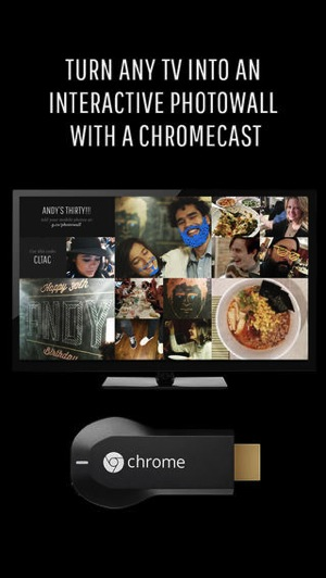 Photowall chromecast