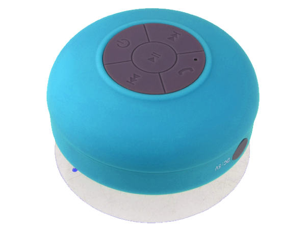 Redesign bluetooth shower speaker blue 3