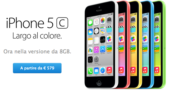 8gb iphone5c 6countries