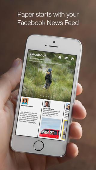Facebook paper new