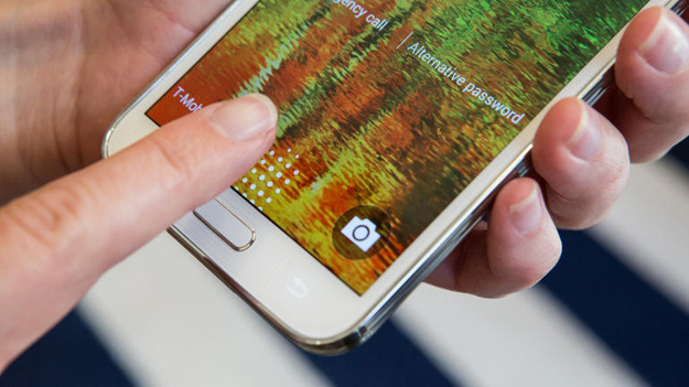 Galaxy s5 fingerprint scanner