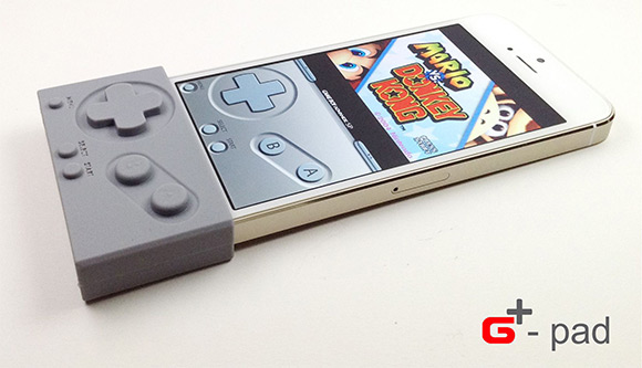 Gpad gameboy control for iphone