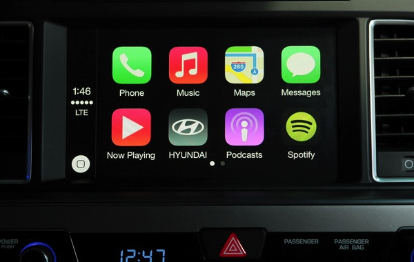 Hyundai carplay 2015 sonata