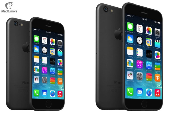 New Renders Imagine the 'iPhone 6' Based on Leaked Schematics [PICS]