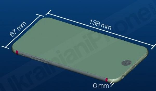 Schema dimensions iphone 6 001