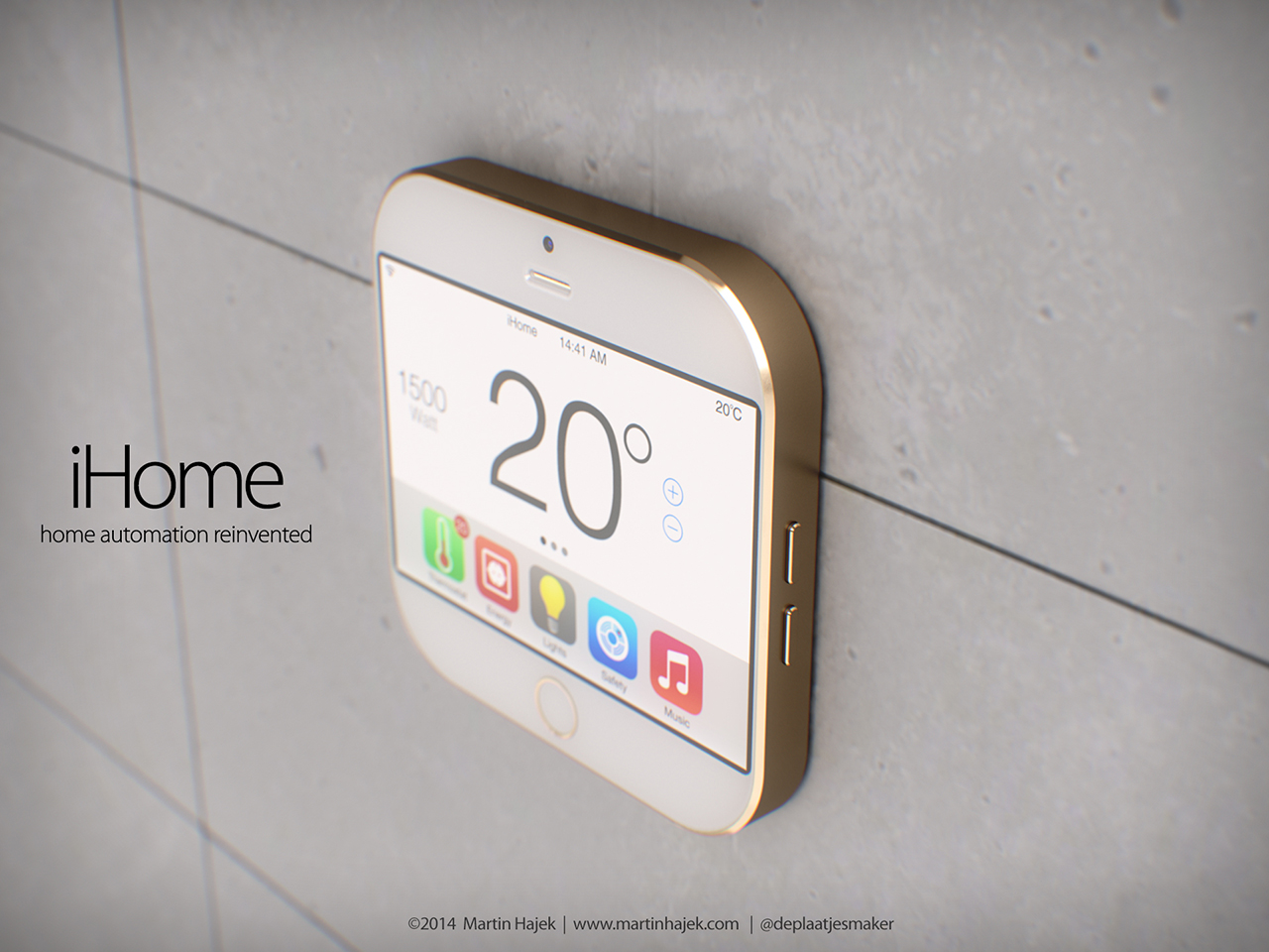 Here's What Apple's 'iHome' Might Look Like [Concept]