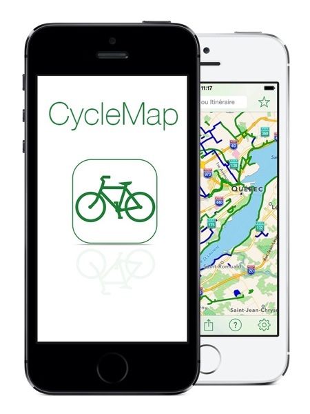 CycleMap phones fr high