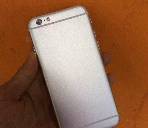 IPhone 6 mockup silver 3