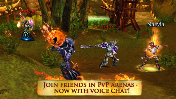 Gameloft's MMORPG 'Order & Chaos Online' for iOS Currently Free ($6.99 value)