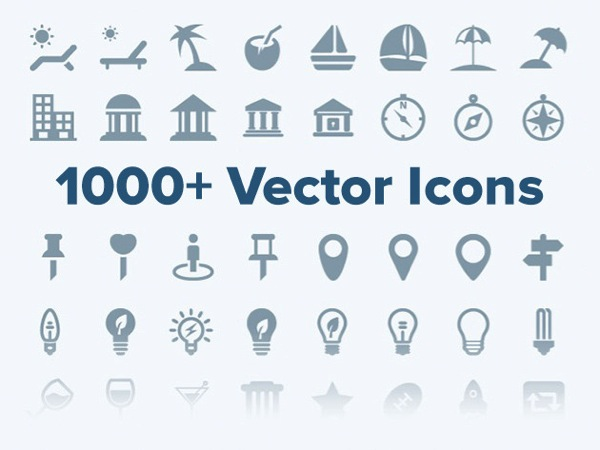 Get 1000+ Vector Icons for your iOS or Android App, On Sale for 51% Off [Deals]