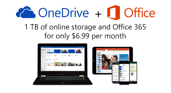 1TB OneDrive O365