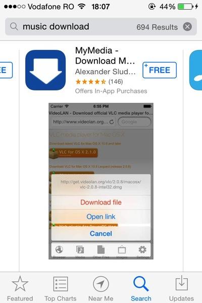 Apple Cracks Down on Music Download Apps