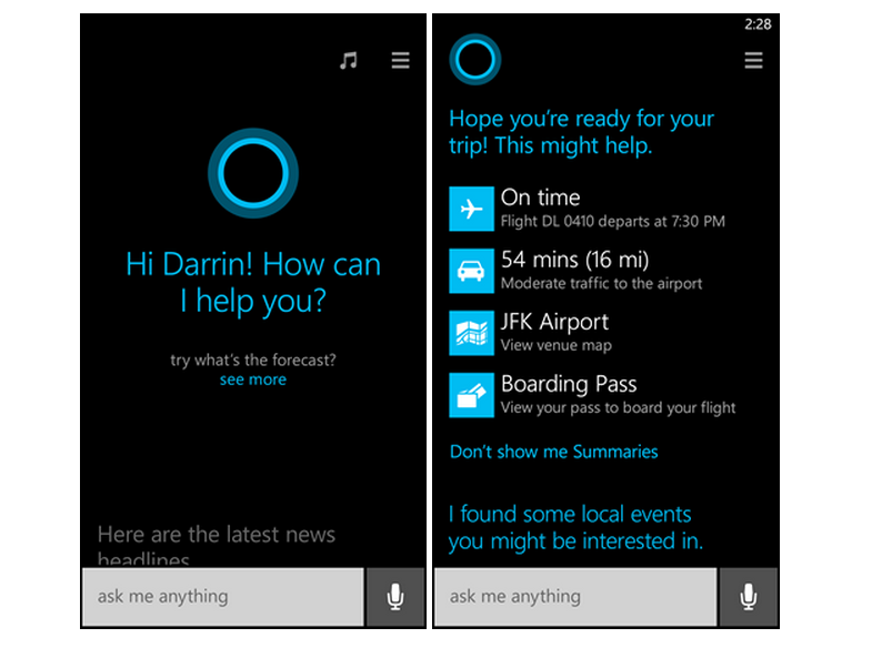 Microsoft Looking to Bring Cortana Virtual Assistant to iOS and Android