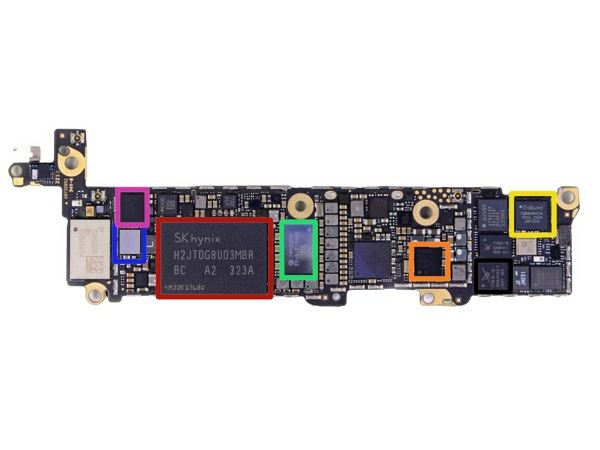 Sk hynix NAND flash iPhone 5s