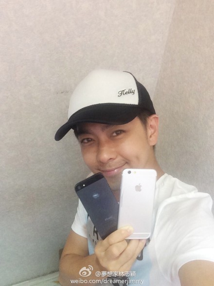 Taiwanese star iphone 6