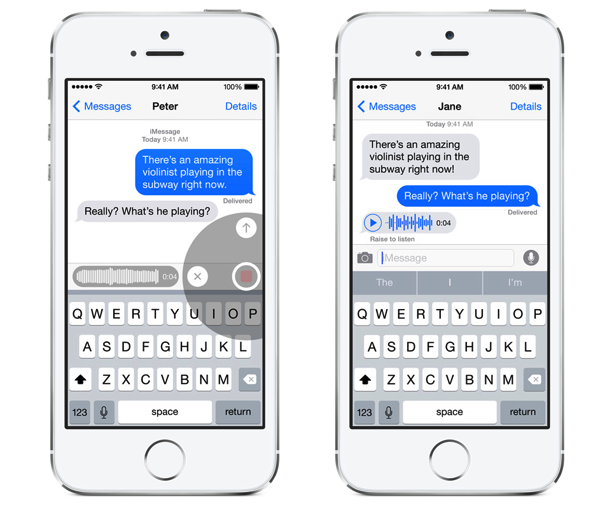 IOS 8 messages sound