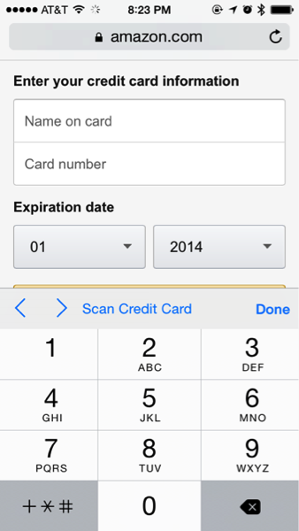 Safari ios 8 credit card scan 01