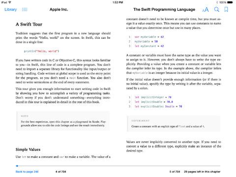 Swift Programming Book