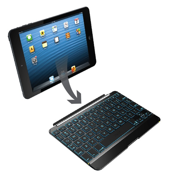 Zagg ipad mini keyboard cover 2