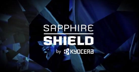 Sapphire shield kyocera