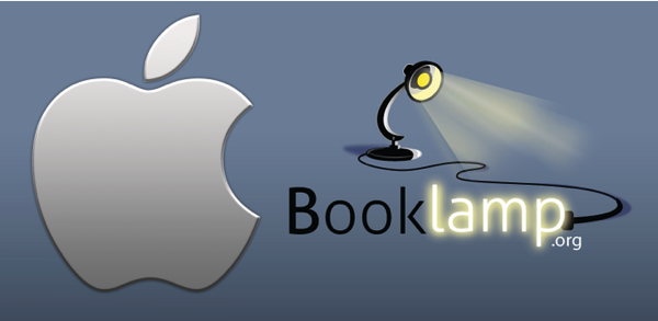 Booklamp apple feature
