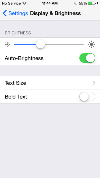 Display and brightness