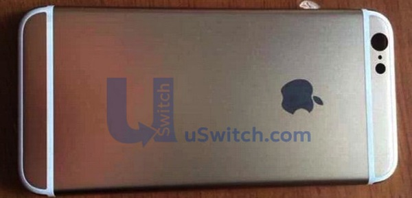 Iphone 6 rear shell front
