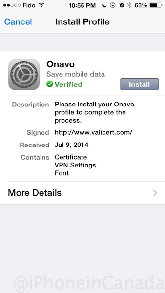 free canada vpn iphone