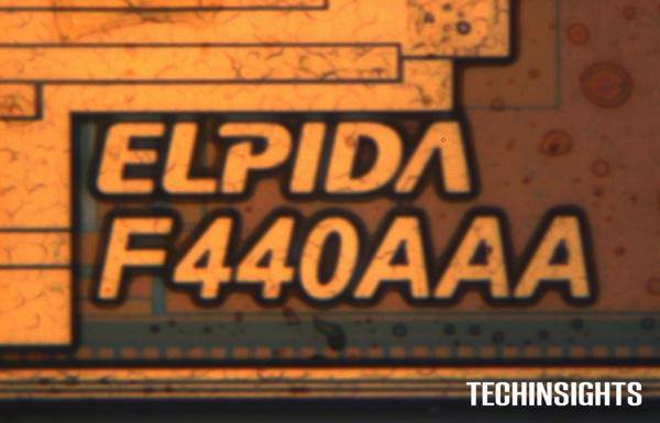 ElpidaLPDDR3 Die Mark