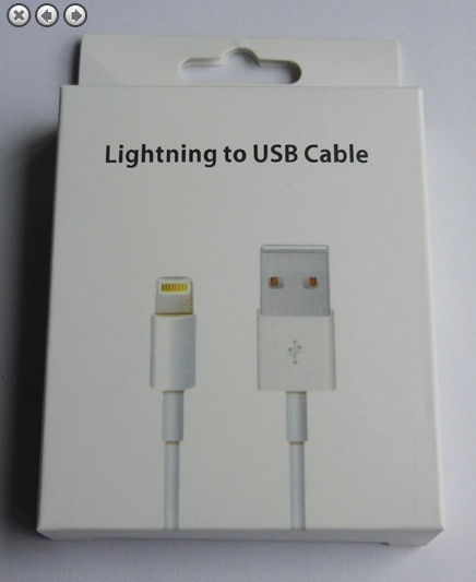 Non OEM Lightning to USB cable retail box
