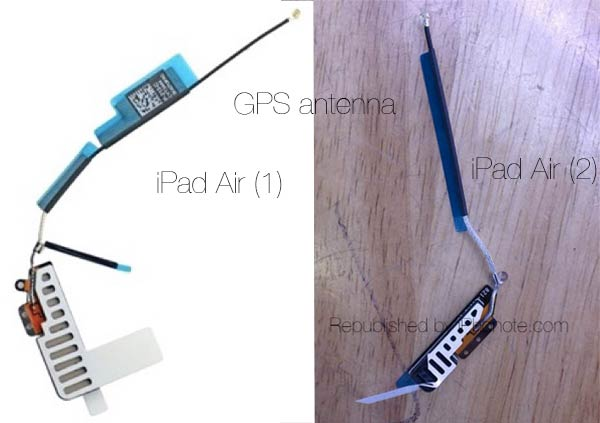 Gps antenna ipad air 2